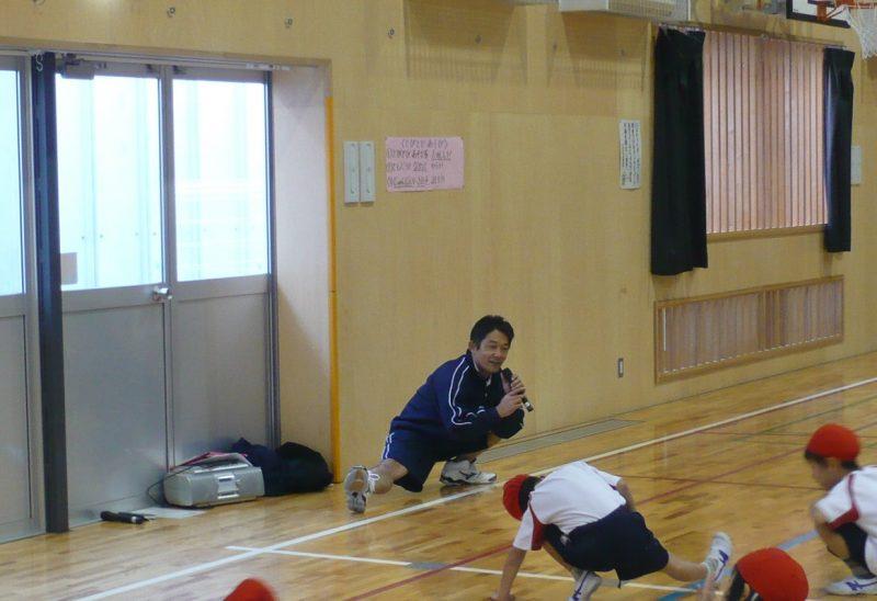 えび先生の体操です!