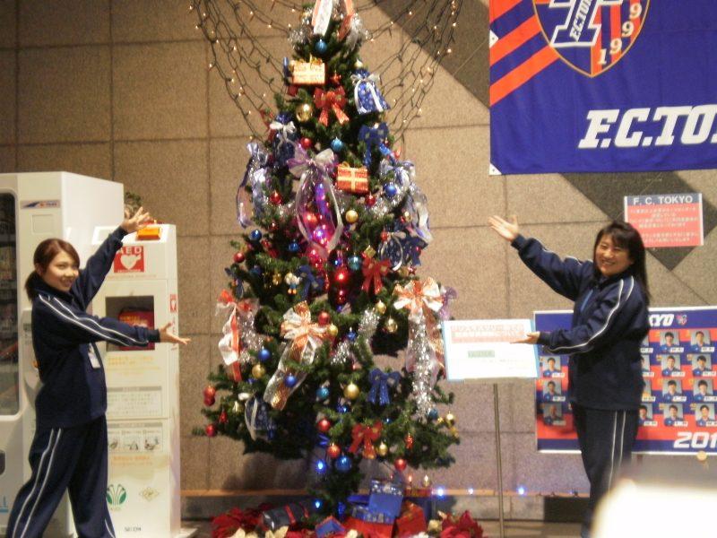 こちらが今回のクリスマスツリーです!