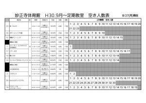 妙正寺定期2次募集空き1 – コピーのサムネイル